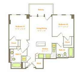Two Bedroom (2B)