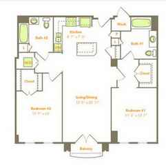 Two Bedroom (2L-A)