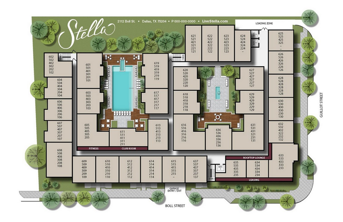 View site plan in new window