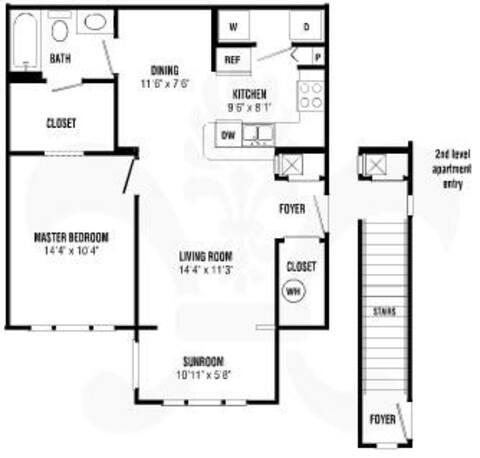 Floorplan Berkley layout