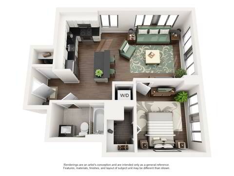 Floorplan A layout