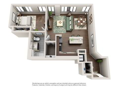 Floorplan A3 layout
