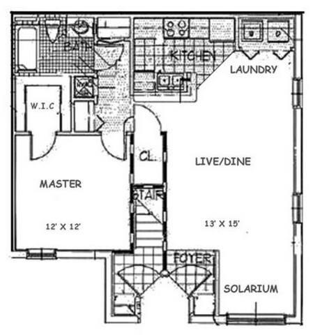 Floorplan Pine Valley layout