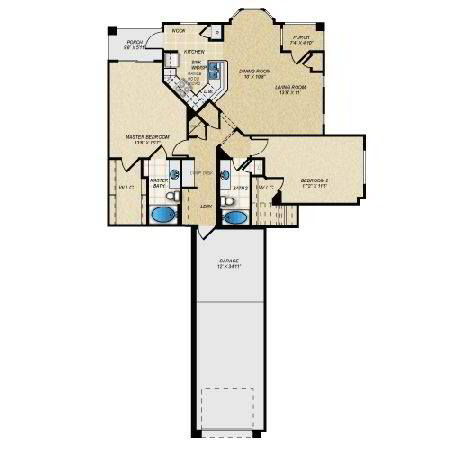Floorplan Half Moon - Phase II layout