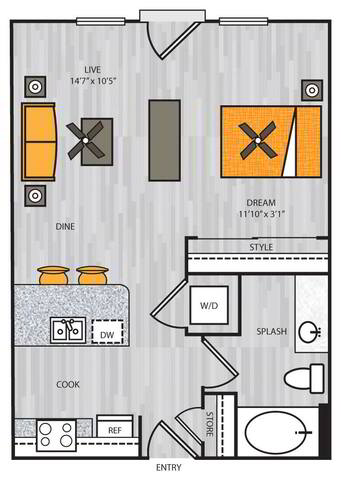 Floorplan S1 layout
