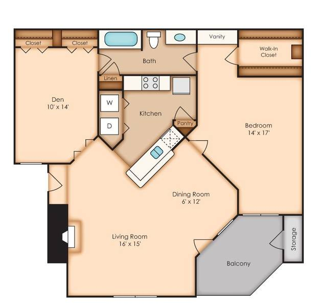 A 2D drawing of the Ethan   (AAD1) floor plan