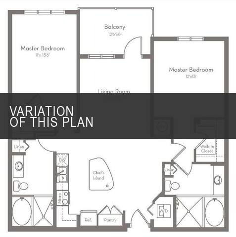 Floorplan B1.A layout