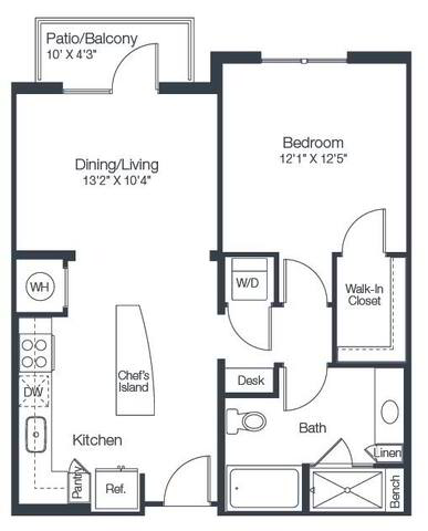 Floorplan A2A layout