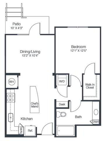 Floorplan A2D layout