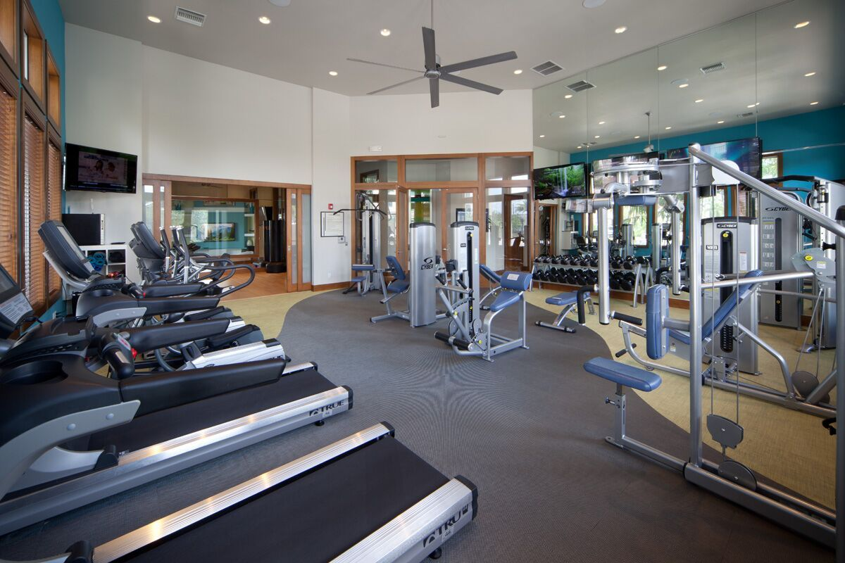 Fitness Center with Cardio equipments