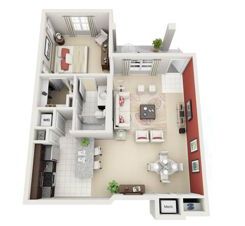 Floorplan Aspire layout