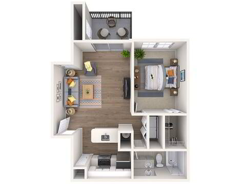 Floorplan Azalea layout