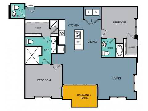 Floorplan b3.1 layout