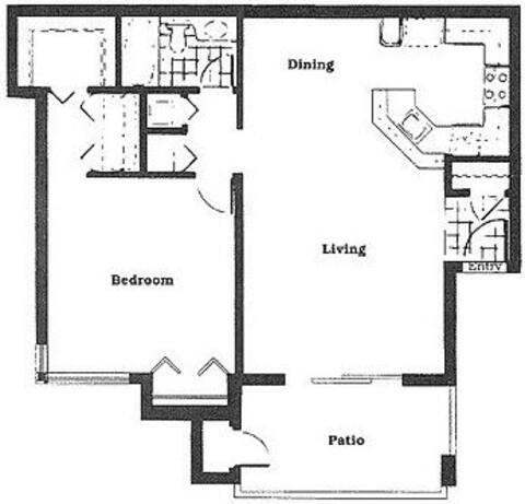 Floorplan The Magnolia layout