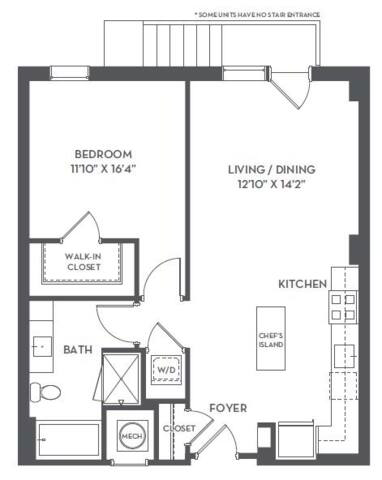 Floorplan 1-F1 layout