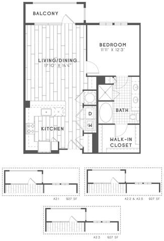 Floorplan A2 layout