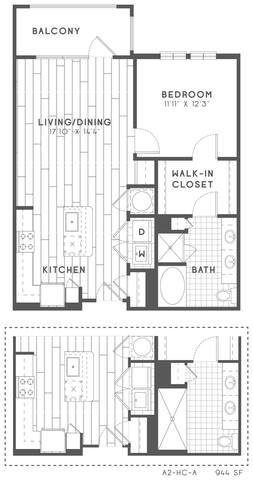 Floorplan A2 HC layout