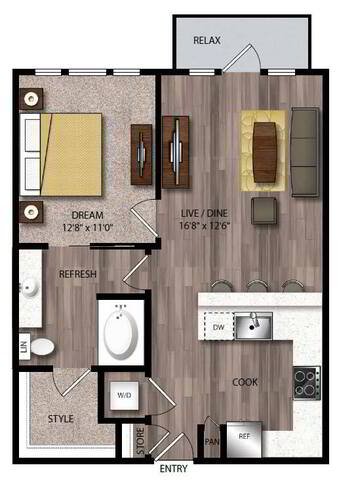 Floorplan A6.1 layout