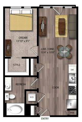 Floorplan A7.2 layout