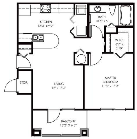 Floorplan Asprey layout