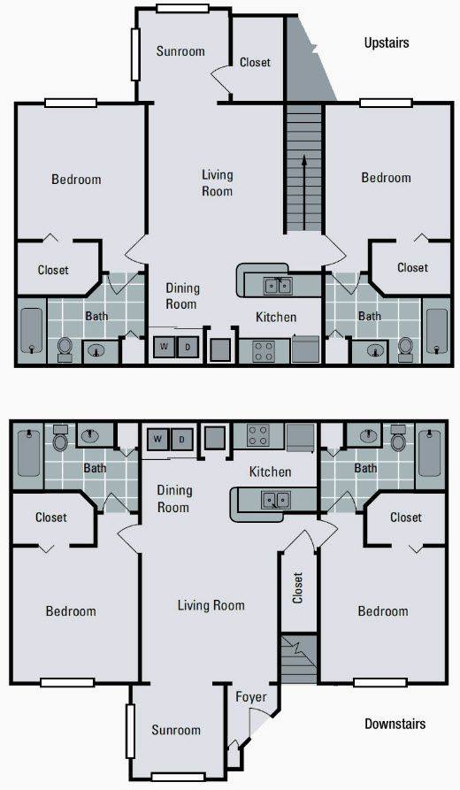 A 2D drawing of the B1 floor plan