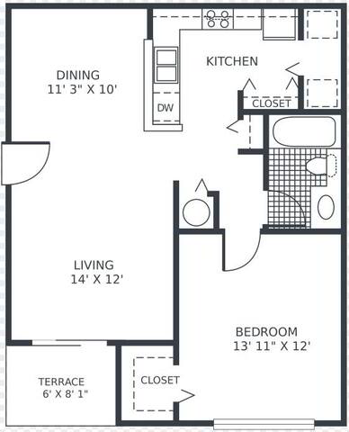 Floorplan Orchid layout