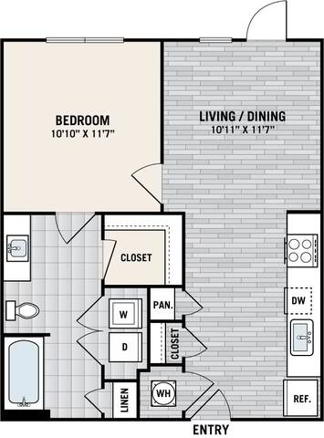 Floorplan E2 layout