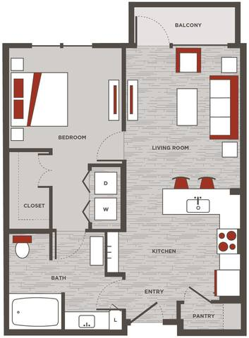Floorplan A1.1 layout