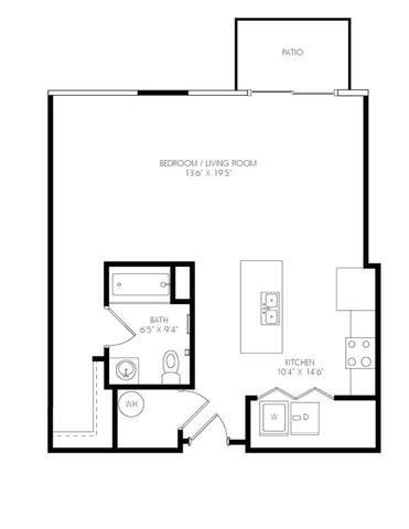Floorplan Britto layout