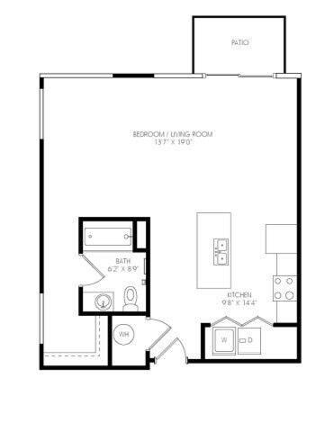 Floorplan Augusta  layout