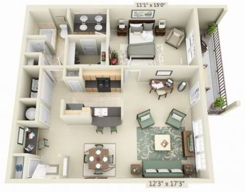 Floorplan Sonora layout