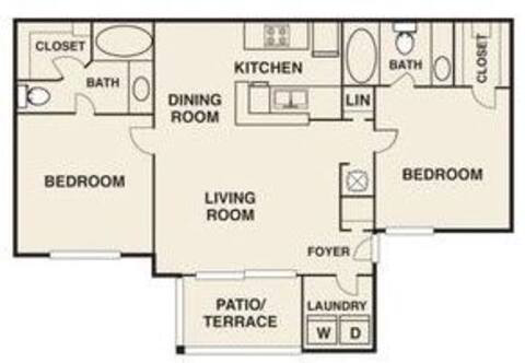 Floorplan Clemson layout
