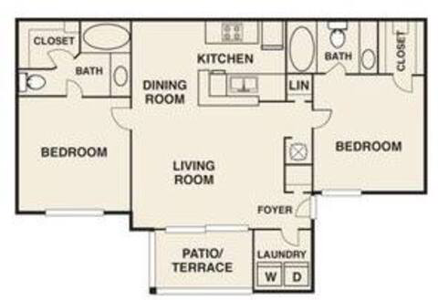 Floorplan Clemson Renovated layout