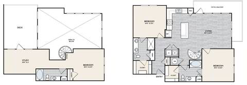 Floorplan C2 TERR layout