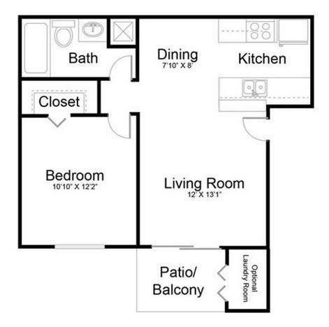 A 2D drawing of the Haven floor plan