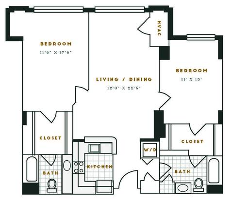 Floorplan K1R layout