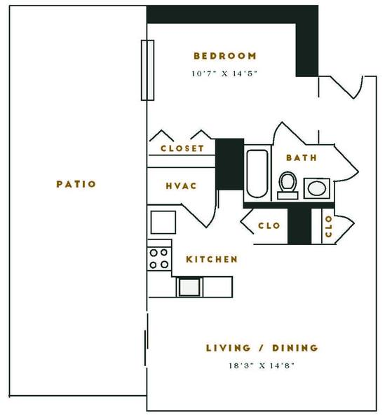 A 2D drawing of the M3R floor plan