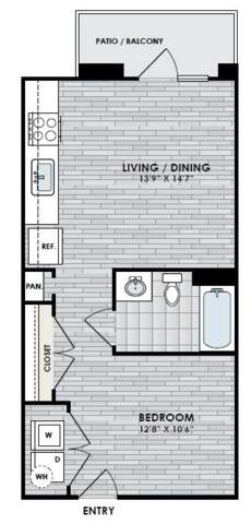 Floorplan E1 layout