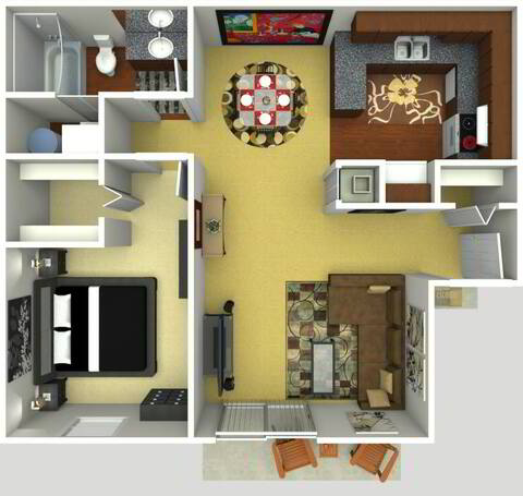 Floorplan Royal Renovated layout