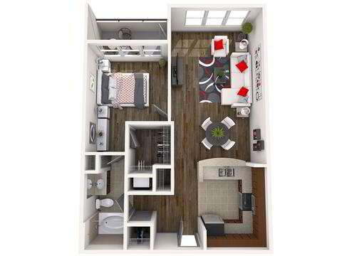 Floorplan Central layout