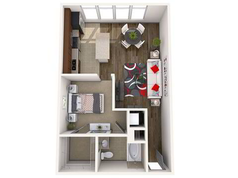 Floorplan Sodo layout