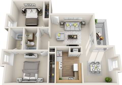 Floorplan Hope layout
