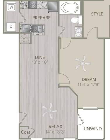 Floorplan A2L layout