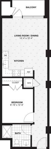 Floorplan S2B layout