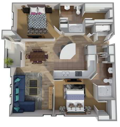 Floorplan B4 layout