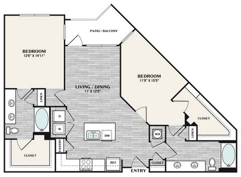 Floorplan B3 layout