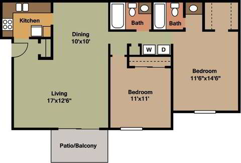 Floorplan B2 layout