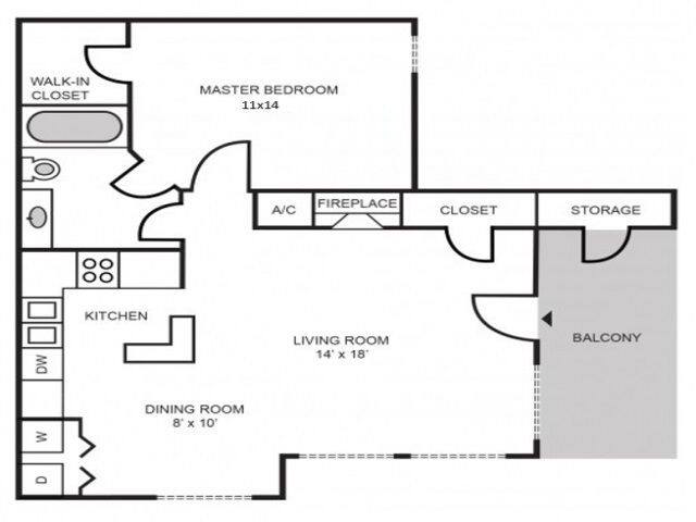 Floorplan Manchester Renovated layout