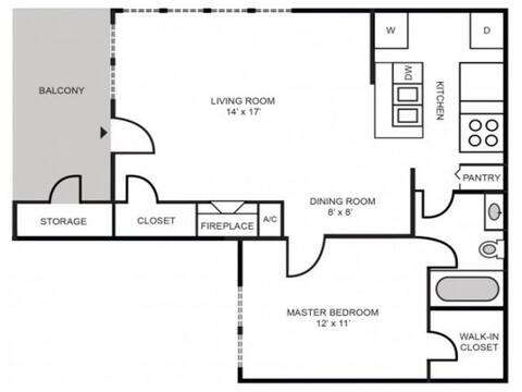 Floorplan Nantucket layout