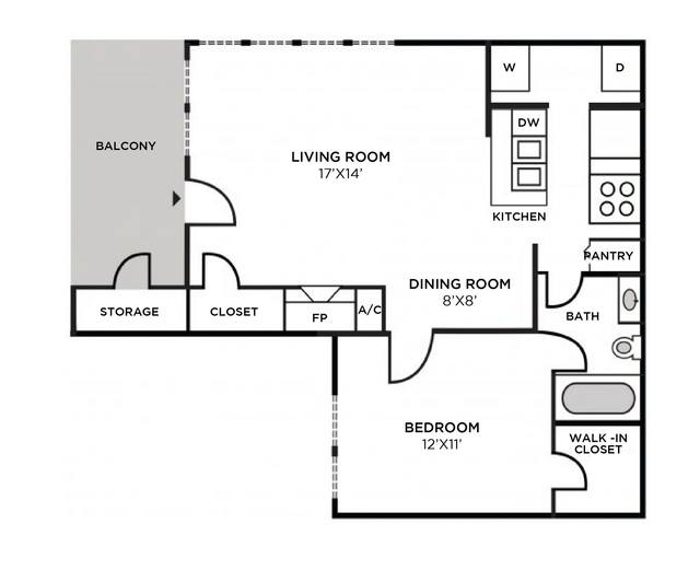 A 2D drawing of the Nantucket Classic floor plan